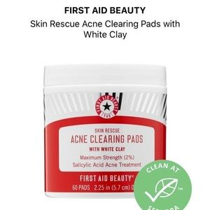Acne Pads First Aid Beauty